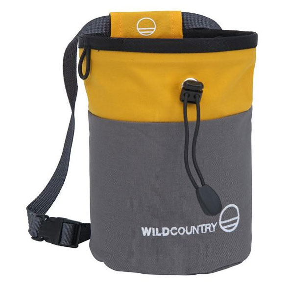 vrecko na magn�zium WILD COUNTRY Petit Bloc Chalk Bag Grey-Yello